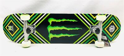 Monster Energy RARE Collectible X Games Minneapolis ELEMENT Skateboard Complete