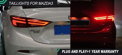 Axela taillights 2014 2017 Design LED Mazda3 M3 taillight TAIL Lights All LED Re