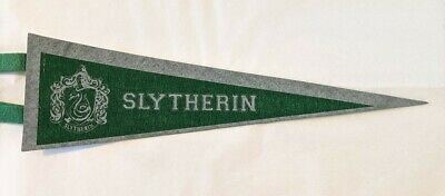 HARRY POTTER SLYTHERIN Pennant Flag AUTHENTIC ... FREE SHIPPING !!!