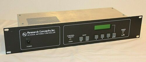 Research Concepts RC1000A Satellite Antenna Controller