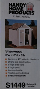 GARDEN SHED - at Giveaway Price $150!