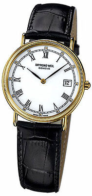 Raymond Weil Tradition 18kt Gold Plated Men's Swiss watch 5514-P-00301