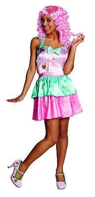 Sexy Candygirl Bonbonkleid bunt Candykostüm Kostüm für Damen