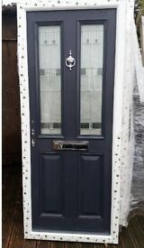 BRAND NEW Grey Composite Door 845x2035 Delivery available- ask