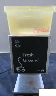 Wilbur Curtis Scslg-10 Commercial Coffee Grinder Bean Ground Slg-10