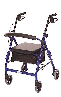 Essential Medical Supply Featherlight Demi Four Wheel Walker