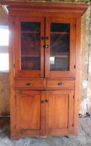 SOLD PPU   China Cabinet (needs refinishing)