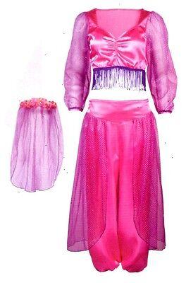 Bauchtänzerin Orient Tänzerin Kostüm Gr. S Fasching Karneval Halloween - Kleine Mädchen Bauchtänzerin Kostüm