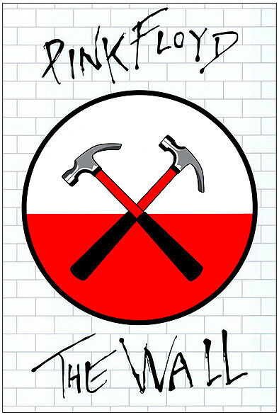 PINK FLOYD THE WALL - HUGE A0 PROMOTIONAL POSTER