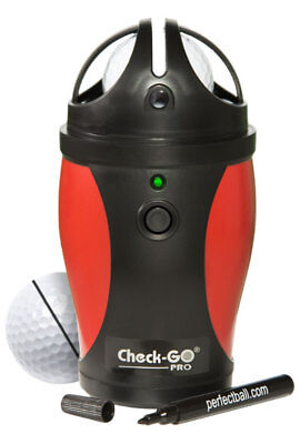 Professional Edition Check Go Golf Ball Sweet Spot Finder Ball Alignment Tool