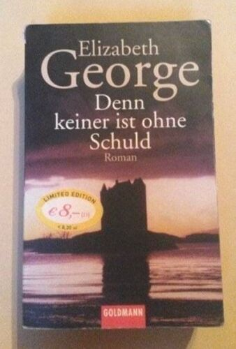 Denn keiner ist ohne Schuld von Elizabeth George (1999, Taschenbuch)