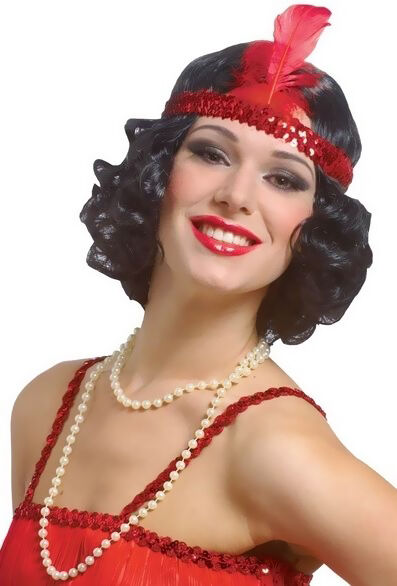 Ladies' 1920s Flapper Wig