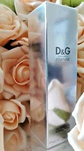 Dolce & Gabbana FEMININE  D&G Eau De Toilette Spray 3.4 oz 100 ml.Sealed Box