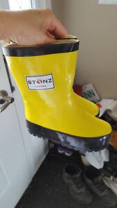 Stonz Rain Boots Toddler Size 5