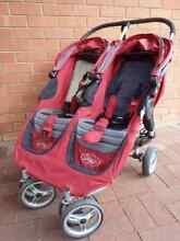 Baby Jogger City Mini Double, raincover and two woollen inserts Glenalta Mitcham Area Preview
