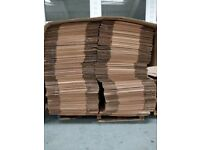 1800 x Single Wall cardboard boxes 1000mmx300mmx300mm