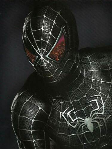 The Amazing Spider-Man 3 Black Venom Spider-Man Tights Cosplay Costume Zentai