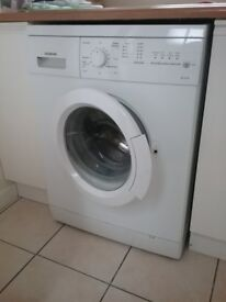 PACKAGE SALE OF WASHING MACHINE, TUMBLE DRYER, FRIDGE AND FREEZER. ALL IN GOOD WORKING ORDER