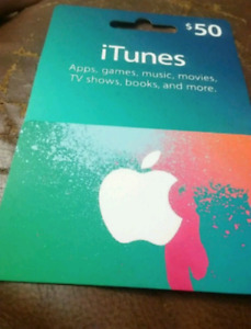 Located in Ottawa iTunes Gift Card