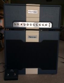 Marshall Astoria Dual Hand-Wired Head and Matching Cab