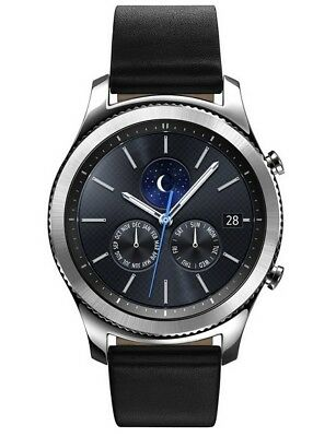Samsung Galaxy Gear S3 Classic SM-R775V Verizon Smart Watch 46mmm Stainless for sale  Shipping to Canada