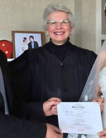 Licensed, Ordained Minister experienced officiating at Weddings,