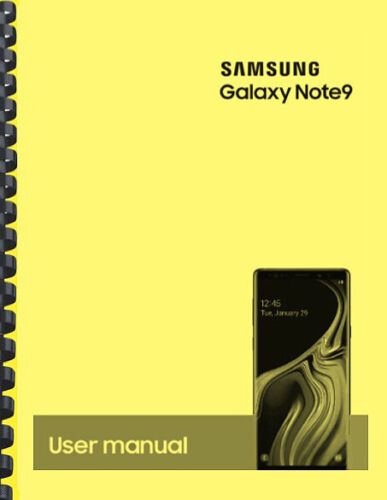 Samsung Galaxy Note 9 Note9 AT&T OWNER