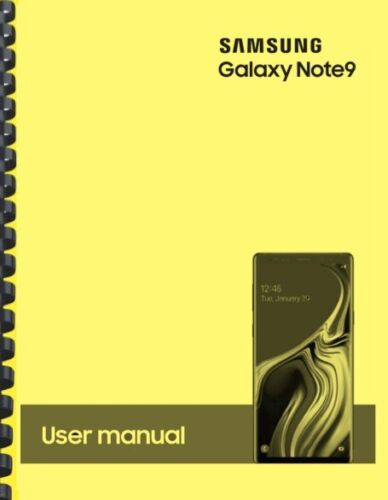 Samsung Galaxy Note 9 Note9 T-Mobile OWNER