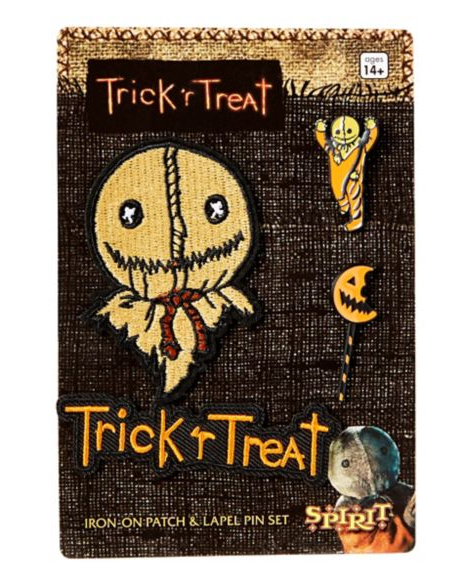 Sam Pin And Patch Set - Trick r Treat - FREE SHIPPING - $21.00