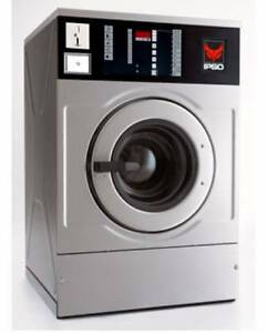IPSO WD100C Industrial Coin Operated Front Load Washer (3 left) Hallam Casey Area Preview