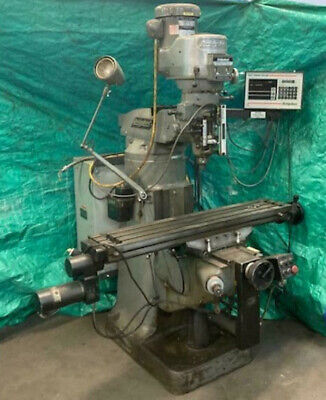 Bridgeport Milling Machine Cnc Ez Trak Plus Manual Or Cnc