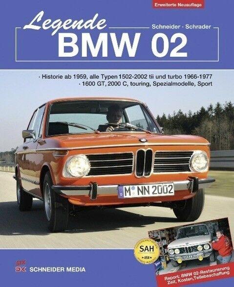 Legende BMW 02 - Hans J. Schneider / Halwart Schrader - 9783768858090 PORTOFREI