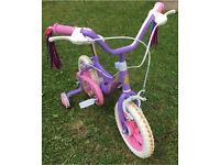 "Glitter bug 12"" girls bike"