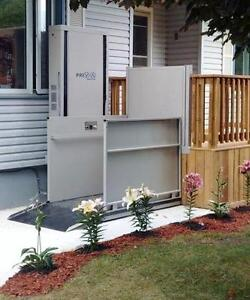NEW Vertical Platform Lift - Best Price Guaranteed - Get your 200$ discount : 1-844-927-7482(PRIVA) - Stairlifts