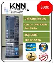 KNN Computers - HP , Dell , Lenovo  Core i7,i5 Ex-leased Used IT Smithfield Parramatta Area Preview