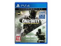 2 games CALL OF DUTY PS4