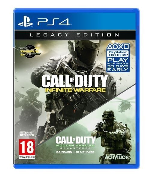 CALL OF DUTY INFINITE WARFAREPS4 gamein Leicester, LeicestershireGumtree - CALL OF DUTY INFINITE WARFARE PS4 game used but in very good condition all codes have been used just infinite warfare game only £10 no offers please