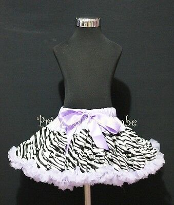 Silver Grey Snake Print Printing FULL Pettiskirt Skirt Dance Tutu For Girl 1-8Y