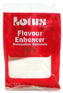 100g Lotus Monosodium Glutamate MSG Flavour Enhancer Seasoning