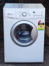 Whirlpool 7.5KG front loader washing machine 2 yr old Seven Hills Blacktown Area Preview