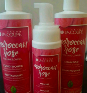 Lacoup Moroccan Rose Hair Set