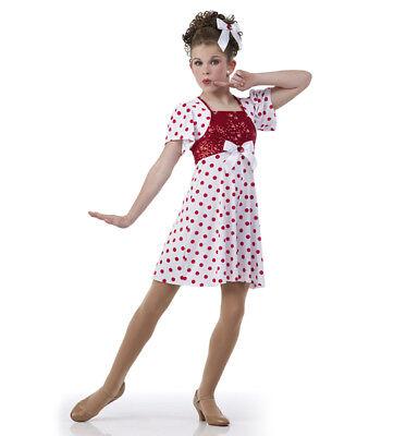 Child 6X7 Dress Swing Time Jazz Dance Costume Tap 40's