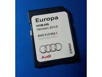 New 2016 version Audi A4 Navigation SD card