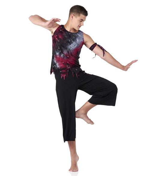 Boy Dance Tank Shirt ONLY Costume Bleeding Love XS,CS,6X7