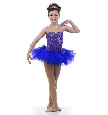 Für Erwachsene, Großes Purplescent Ballett Tutu Tanzkostüm
