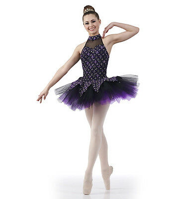 Whisper Ballet Tutu Dance Christmas Costume Sugar Plum Girls CS 6X7 Adult Medium