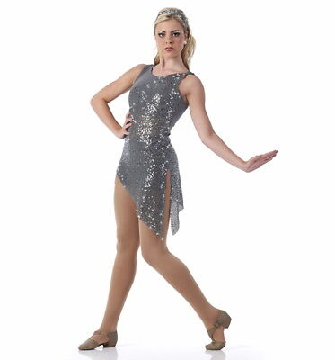 Adults Only Costumes (Chained Ballet Dance Costume Tunic Top ONLY Dress Child and Adults)