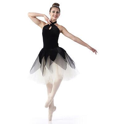 Evening Silhouette Dance Costume Romantic Ballet Tutu Nutcracker Child 6x7