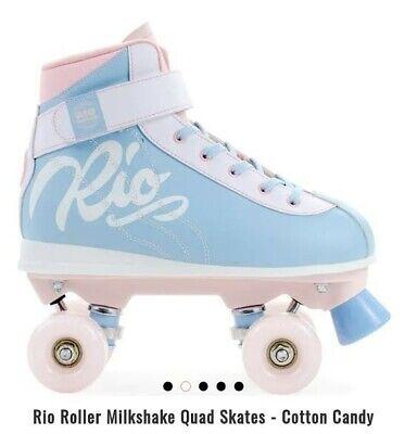 Rio Roller Signature Quad Roller Skates Optional Skate Bag Purple