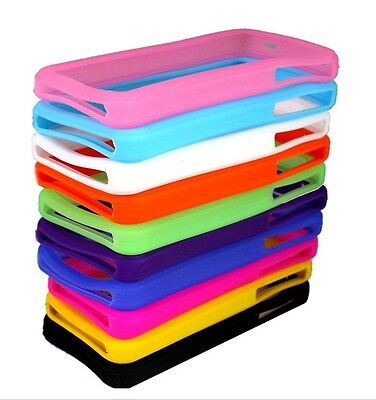 10PCS Nice Soft Silicone Bumper Case Cover Skin House for Apple Iphone 4 4S on Rummage